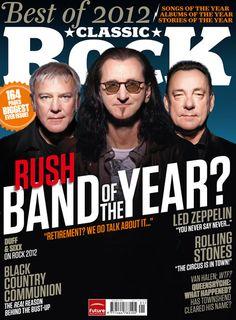 Rush: Band of the Year? - Classic Rock Magazine - January 2013 - courtesy of Cygnus-X1.Net
