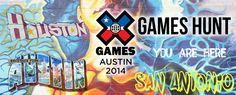 X Games Hunt - X Games Austin 2014 (promotion banner)