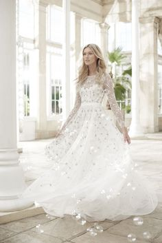 Oh, my word this bridal gown collection from Needle & Thread is utterly romantic! Featuring dreamy floral embellishments, exquisite beadwork and romantic tulle, these stylish wedding dresses are perfect for any type of wedding.