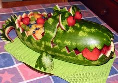 watermelon alligator by cairns104, via Flickr
