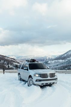 Made our own trails up to a Wasatch Mountain peak... and the view was worth it. Made possible with all-wheel drive in the #Navigator.