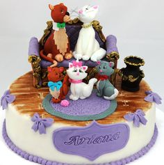 Alley Cats cake viorica's cakes