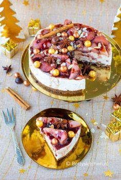 10 x Kerstdesserts Gluten Free Baking, Healthy Baking, Bake My Cake, Sweet Cupcakes, Sweet Pie, Banoffee Pie, Love Food, Cupcake Cakes, Bakery