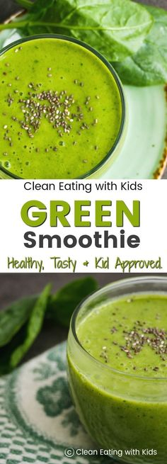 How Long Will Green Smoothie Last In Fridge.Guidelines For Creating Your Own Nutritious Green Smoothies Products! Protein Smoothies, Healthy Green Smoothies, Green Smoothie Recipes, Vegetable Smoothies, Breakfast Smoothies, Healthy Snacks For Kids, Healthy Foods To Eat, Healthy Drinks, Healthy Eating