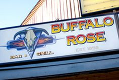 Buffalo Rose Saloon - the oldest tavern in Colorado & the most famous in Golden - live music in summer