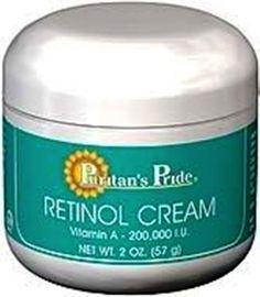 Retinol Cream (Vitamin A 100,000 IU Per Oz.) - Puritan's Pride - You'll love it. #PuritansPride