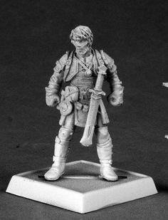 Pathfinder Miniatures (Eando Kline, Fighter 60041) RPG 25mm Minis