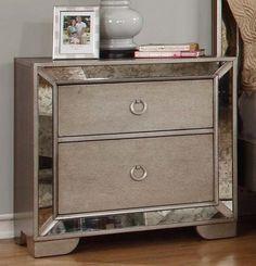 Best Master Furniture Silver Bronze Dresser And Mirror Pinterest Mirrored Products