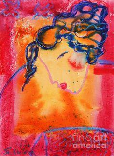 Spring kiss by Tatjana Krilova Kiss Painting, Watercolors, Greeting Cards, Wall Art, Paper, Spring, Water Colors, Watercolor Paintings, Watercolor