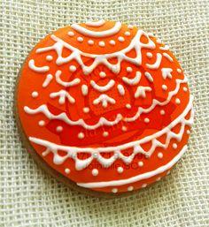 Bolachas decoradas - Bola de Natal @doceriadalilica