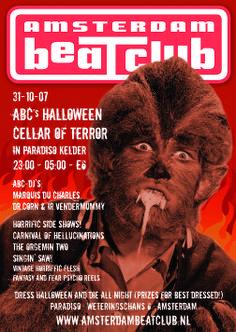 Amsterdam BeatClub Halloween at Paradiso, 2007