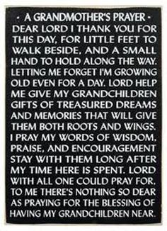 Read our collection of prayers for grandmother, and submit your own prayer request. Prayer Board, My Prayer, Faith Prayer, Prayer Wall, Quotes About Grandchildren, Grandkids Quotes, Grandson Sayings, Lord Help Me, Grandma Quotes