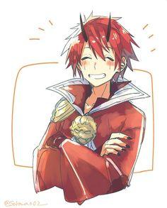 i frikin love him :v ♡ Benimaru Cute Anime Boy, Anime Guys, Fan Anime, Anime Art, Slime, Otaku, Transformers, Sinon Sao, Mobile Legend Wallpaper