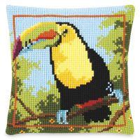 Toucan Pillow Top