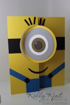 Tarjeta de cumpleaños de Minion imprimible