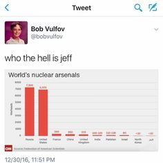 Don't fuck with Jeff...