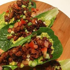 ~Ginger and Maple Pork Lettuce Cups~ . Dinner inspo anyone? . For those of you that love sticky, sweet and spicy spare ribs, this is the recipe for YOU! Give the ribs a miss tonight and make these- you will get all the satisfaction and you will be glad you nourishing your body and not putting strain on it. . As with all my recipes, these are: 🥙Refined sugar free 🥙Gluten free 🥙Dairy free . This is a super quick dinner meal and I Always make the leftovers into a salad for work the next day…