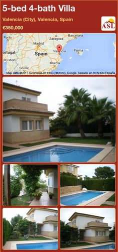 5-bed 4-bath Villa in Valencia (City), Valencia, Spain ►€350,000 #PropertyForSaleInSpain