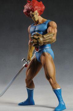 Lion-O Thundercats action figure by Mezco Toyz. WANT!