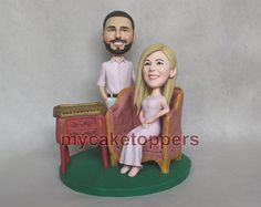 Check out this item in my Etsy shop https://www.etsy.com/listing/188803356/engagement-wedding-cake-topper-custom