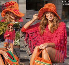 Poncho Belas-crocheted