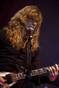 Dave Mustaine- Megadeth..........