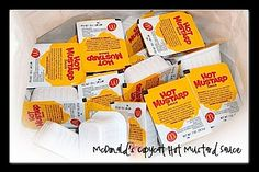 McDonald's Hot Mustard Sauce Copycat. Best thing McD's makes is this sauce.