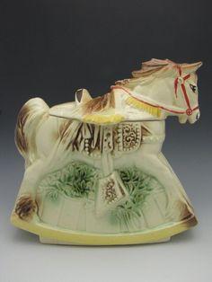 McCOY HOBBY HORSE COOKIE JAR