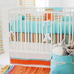 Mariachi Baby Bedding from PoshTots