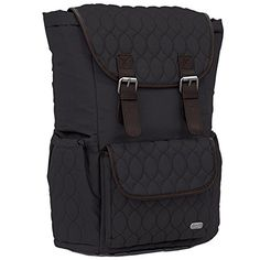 b8301a6cde97a Lug Derby Backpack Midnight Black One Size -- Click image to review more  details.