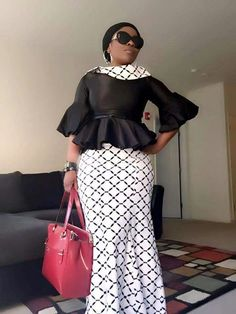 Kaba and Slit style for funerals in Ghana, African fashion, Ankara, kitenge, African women… – African Fashion Dresses - African Styles for Ladies African Fashion Ankara, Latest African Fashion Dresses, Ghanaian Fashion, African Dresses For Women, African Print Dresses, African Print Fashion, African Attire, African Wear, African Women