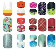 Mommy and me nail wraps