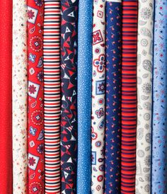 Connecting Threads - fabric collection: Hometown Summer