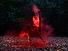 Photographer Bertil Nilsson's series featuring nude dancers alone in sweeping, natural landscapes…beautiful