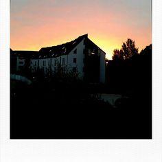 Blick aus dem Bürofenster Digital Photography, Northern Lights, Mountains, Nature, Travel, Pictures, Windows, Naturaleza, Viajes
