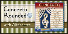 Concerto Rounded SG™ font download