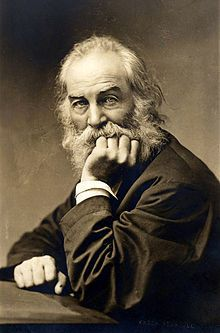 Walt Whitman, noted American poet, was a young Printer's Devil for a Long Island Newspaper edited by Mark Twain (Samuel Clements).