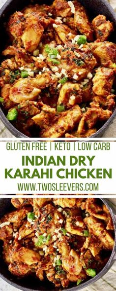 Keto Low Carb Indian Dry Chicken Curry Recipe – Two Sleevers