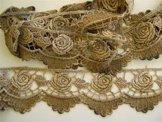 Antique Dyeing and Tinting Lace and Other Fabric Trims Using Potassium Permanganate. Directions...
