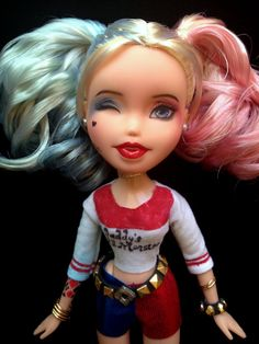 Harley Quinn Suicide Squad Inspired OOAK Custom by IAmLovedDolls