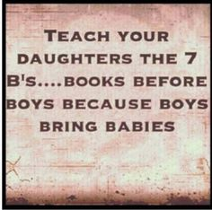 7 B.'s for daughters