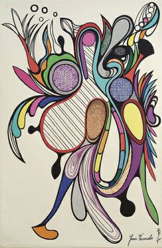 """""""Bird of Paradise"""" tapestry of Joana Vasconcelos in collaboration with the Manufacturing of Portalegre Tapestries"""