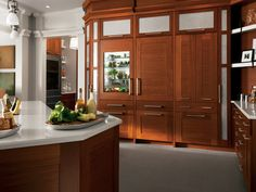 Fully integrated refrigerators and dishwashers are all part of the new luxury in kitchen storage.
