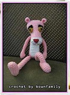 Ravelry: Amigurumi Pink Panther pattern by bownfamily
