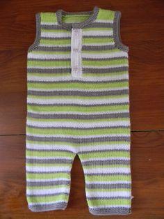Tutoriel: combinaison bébé en coton sans manches