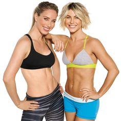 The Workout Julianne Hough Swears By - Dancing isn't the only thing that keeps Julianne Hough in top shape. Challenging, efficient workouts with her trainer and friend, Astrid Swan McGuire, get her strong and totally toned.