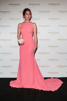 Natalia Sanchez, Vestidos Color Rosa, Bridal, Film Festival, Frocks, Pink Dress, Red Carpet, Awards, Luxury Fashion