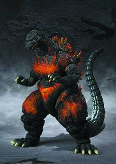 "S.H.MonsterArts Burning Godzilla ""Godzilla vs. Destoroyah"""
