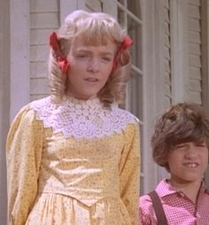 Nellie and Willie Oleson, from Little House On The Prairie.