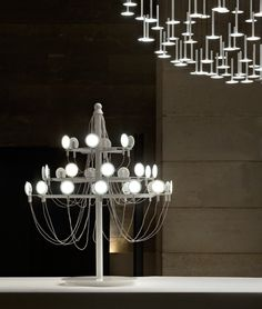 Crino by Camille Paillard Chandelier, Home Lighting, Ceiling Lights, Shapes, Projects, Design, Home Decor, France, Life